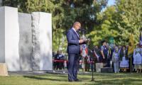 Ceremonia odsłonięcia Pomnika Pamięci Ofiar Zbrodni Pomorskiej 1939, fot. Daniel Pach