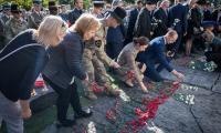 Ceremonia odsłonięcia Pomnika Pamięci Ofiar Zbrodni Pomorskiej 1939, fot. Andrzej Goiński