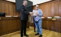 """Rozdanie nagród w konkursie """"Niepodległa-Nieodległa"""", fot. Andrzej Goiński"""