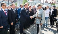 Jednym z najważniejszych wydarzeń roku 100-lecia odzyskania niepodległości była uroczysta sesja sejmiku województwa połączona z Forum Samorządowym, która odbyła się 14 maja na placu przed Urzędem Marszałkowskim w Toruniu, fot. Andrzej Goiński