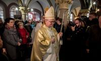 Uroczysta msza święta w toruńskim kościele garnizonowym, fot. Łukasz Piecyk dla UMWKP