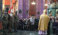 Msza za Ojczyznę w bydgoskiej katedrze, fot. Roman Bosacki dla UMWKP