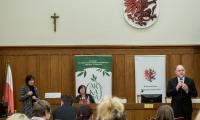 Towarzysząca wystawie konferencja, fot. Łukasz Piecyk dla UMWKP