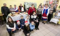 Spotkanie wigilijne Koła Gospodyń Wiejskich Byczyna Kolonia (powiat radziejowski), fot. Andrzej Goiński