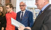 """Spotkanie ze stypendystami projektu """"Prymus Pomorza i Kujaw"""", fot. Szymon Zdziebło/Tarantoga.pl"""