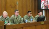 Amerykańscy Żołnierze na Sali Sejmikowej