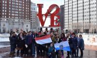 Obowiązkowe zdjęcie pod słynnym napisem LOVE i pożegnanie z Filadelfią