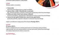 Afisz - Konkurs Wiedzy o Życiu i Twórczości Poetyckiej Jacka Kaczmarskiego