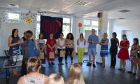 Gruzińscy goście i polscy gospodarze podczas Dnia Rodziny w KP SOSW