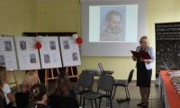 Odczytanie listu Prezydenta RP przez dyrektor PBW, fot. PBW Bydgoszcz