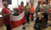 uroczytsość z okazji Święta Odzwyskania Niepodległości w Klinice Onkologii