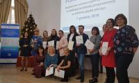 Nauczyciele - prezenterzy i organizatorzy Forum Praktyków 2019