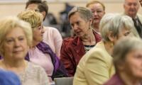 Seminarium na temat możliwości aktywizacji społecznej seniorów z okazji Dnia Babci i Dziadka, fot. Szymon Ździebło www.tarantoga.pl