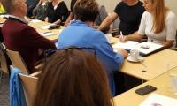 """Seminarium dla trenerów programu """"Bez przemocy"""", Toruń, 20 września 2019 r.; fot. Biuro Wsparcia Rodziny i Przeciwdziałania Przemocy"""
