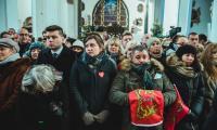 Msza żałobna i ceremonia pogrzebowa w bazylice mariackiej, fot. Piotr Połoczański