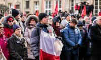 Gdańszczanie żegnają swojego prezydenta, fot. Andrzej Goiński/UMWKP