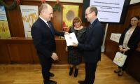 Uroczystość wręczenia umów o dofinansowanie projektów w Urzędzie Marszałkowskim, fot. Mikołaj Kuras