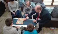 Wizyta w domach dziecka w Więcborku, fot. Łukasz Walusiak