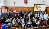 Spotkanie młodzieży z Hiszpanii w Urzędzie Marszałkowskim, fot. Andrzej Goiński