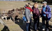 Wizyta studyjna przedstawicielek KE w gospodarstwie opiekuńczym Toskania Kociewska, fot. Andrzej Goiński/UMWKP