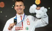 Marcin Lewandowskim na najwyższym podium, fot. Paweł Skraba