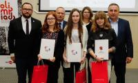 Laureatki regionalnego etapu Olimpiady Solidarności, fot. Mikołaj Kuras