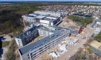 Budowa i rozbudowa Wojewódzkiego Szpitala Zespolonego w Toruniu, fot. Sky Dron Studio dla KPIM