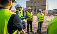 Niedzielne zwiedzanie placu budowy Wojewódzkiego Szpitala Zespolonego w Toruniu, fot. Szymon Zdziebło/www.tarantoga.pl