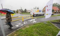 Otwarcie zmodernizowanego fragmentu drogi wojewódzkiej nr 546 w Łubiance, fot. Szymon Zdziebło/tarantoga.pl