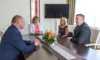 Wręczenie medalu Unitas Durat Krzysztofowi Gorzyckiemu, fot. Szymon Zdziebło/tarantoga.pl