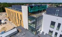 Rozmach inwestycji widać na zdjęciach z drona, fot. Sky Drone Studio dla KPIM