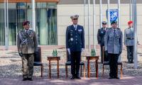 Ceremonia zmiany dowódcy natowskiego ośrodka szkoleniowego w Bydgoszczy, fot. Filip Kowalkowski dla UMWKP