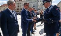 Święto Policji garnizonu kujawsko-pomorskiego, fot. Filip Kowalkowski