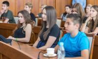Pożegnanie uczestników letniego obozu żeglarskiego w Chorwacji, fot. Szymon Zdziebło/tarantoga.pl