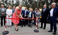 Szpital Popiełuszki, ceremonia przekazania nowych karetek, fot. Andrzej Goiński/UMWKP