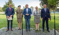 Konferencja, podczas której zostały przedstawione szczegóły obchodów 80. Rocznicy wybuchu II wojny światowej, fot. Szymon Zdziebło/tarantoga.pl