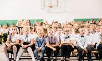 Inauguracja roku szkolnego 2019/2020 w Szkole Podstawowej im. Władysława Łokietka w Brześciu Kujawskim, fot. Andrzej Goiński