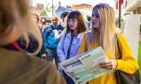 """Gra miejska """"Modern(izm) Talking"""", fot. Szymon Zdziebło/tarantoga.pl"""