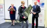 """Wręczenie nagród w grze """"Modern(izm) Talking"""", fot. Andrzej Goiński"""