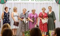 Uroczystości jubileuszowe KGW w Łubiance, fot. Szymon Zdziebło/tarantoga.pl