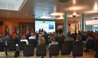 Sesja panelowa z udziałem marszałka Piotra Całbeckiego, fot. Mieszko Matusiak/UMWKP