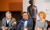 Konferencja prasowa wicemarszałka Zbigniewa Ostrowskiego i dyrektora FP Macieja Puty, fot. Filip Kowalkowski dla UMWKP