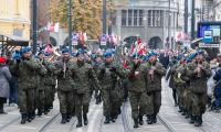 Bydgoskie uroczystości 101. rocznicy odzyskania przez Polskę niepodległości, fot. Filip Kowalkowski