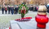 Toruńskie uroczystości 101. rocznicy odzyskania przez Polskę niepodległości, fot. Szymon Zdziebło/tarantoga.pl