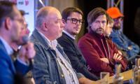 Spotkanie z Lechem Majewskim i Joshem Harnettem w ramach festiwalu, fot. Szymon Zdziebło/tarantoga.pl
