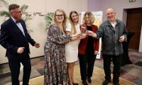 """Wręczenie nagród w konkursie """"Fundusze Europejskie w Kadrze"""", fot. Andrzej Goiński"""