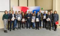 Wręczenie nagród laureatom konkursu fotograficznego, fot. Szymon Zdziebło/tarantoga.pl dla UMWKP