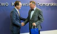 Wizyta Ambasadora Chorwacji, fot. Andrzej Goiński