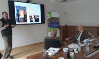W trakcie spotkania przekazano dobre praktyki zagranicznych partnerów projektu ThreeT