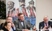 Konferencja prasowa na temat obchodów 100-lecia powrotu Pomorza i Kujaw zachodnich do macierzy, fot. Andrzej Goiński